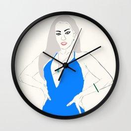 Miss Monster Wall Clock