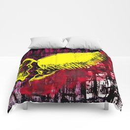 Toxic Heart Comforters