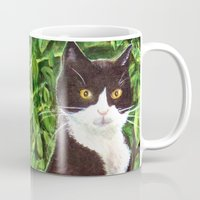 kitty Mugs featuring Kitty by gretzky