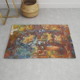 "Claude Monet ""The Japanese Footbridge"" Rug"