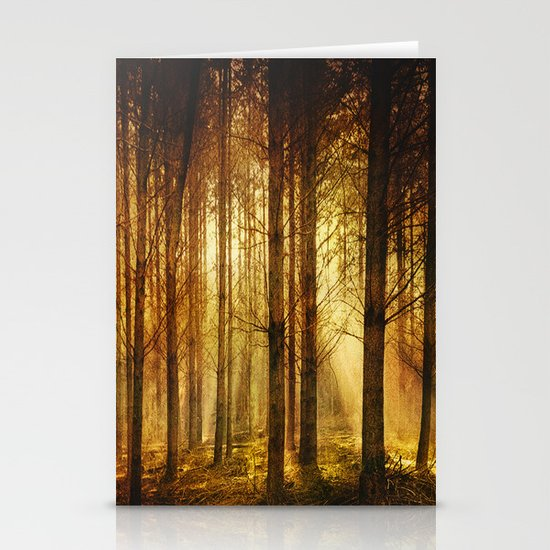Golden Nature. Stationery Cards