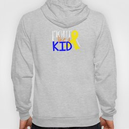 Children's Cancer Awareness Month Ribbon Fight Cancer Unisex Shirt Hoody
