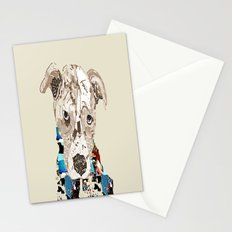 a pit bull day Stationery Cards