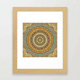 Hippie Mandala 10 Framed Art Print