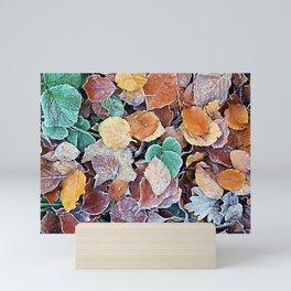 Autumn Frost Mini Art Print