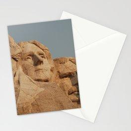 Mount Rushmore, Keystone, South Dakota, United States. Stationery Cards