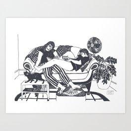 August Heat Art Print