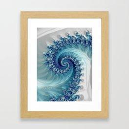 Sound of Seashell - Fractal Art Framed Art Print