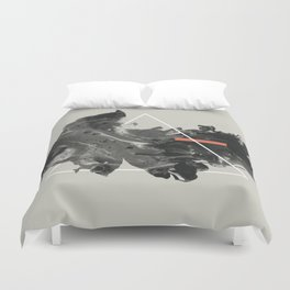 The Malleable Nature of Memory Duvet Cover