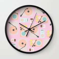 Music Lover Pastel Wall Clock