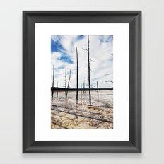 Yellowstone National Park 2 Framed Art Print