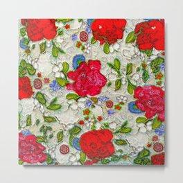 the garden of roses Metal Print