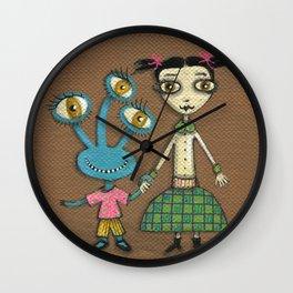 Jane & Mindy Wall Clock