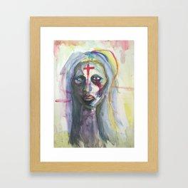 Disembodied  Framed Art Print