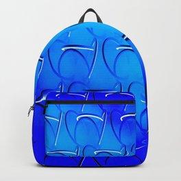 Blue Patterns Backpack