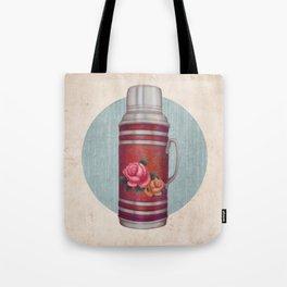 Retro Warm Water Jar Tote Bag