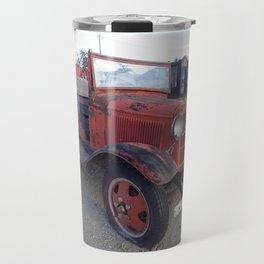 Antique fire truck Travel Mug