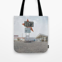 Roys Motel and Cafe   Route 66 Tote Bag
