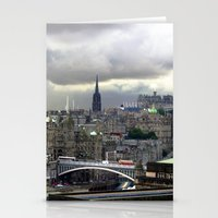 edinburgh Stationery Cards featuring Edinburgh. (II) by zenitt