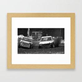 Car Racing Framed Art Print