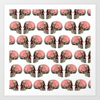 anatomy Art Prints featuring Anatomy by Lolita Stein