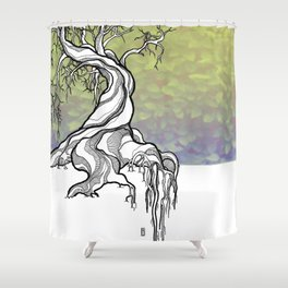 Ancient Life Shower Curtain