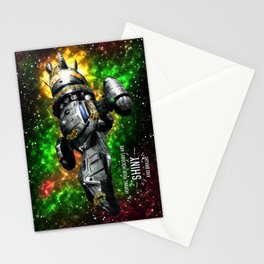 Shiniest Xmas in the 'Verse Stationery Cards