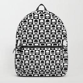 Checkered Skulls Pattern I Backpack