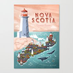 NOVA SCOTIA Canvas Print