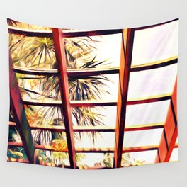 View From the Pergola Wall Tapestry