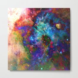 Everything is nothing 27 (therefore it was beautiful) Metal Print