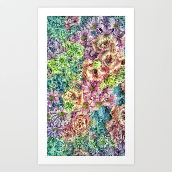 Funky Florgastic Art Print