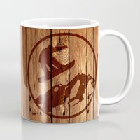 snowboarding Mugs featuring snowboarding 3 by Paul Simms