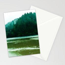 Foggy Beach in Oregon Stationery Cards