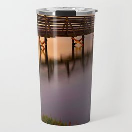 Bolsa Chica Wetlands Sunset Travel Mug