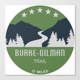 Burke-Gilman Trail Canvas Print