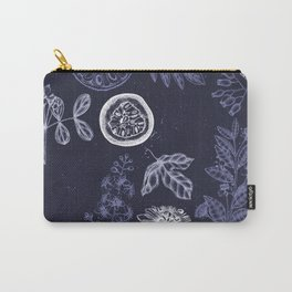 Botanical blue china Carry-All Pouch