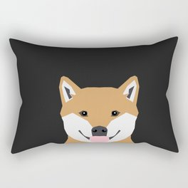 Indiana - Shiba Inu gift design for dog lovers and dog people Rectangular Pillow