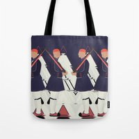 guardians Tote Bags featuring Guardians by infloence