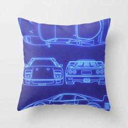 F40 Throw Pillow