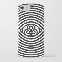 third eye iPhone & iPod Cases featuring Third Eye by cmyka