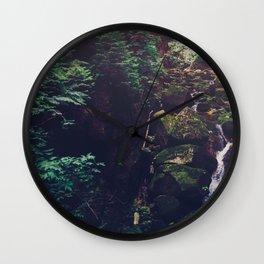 Waterfall Wilderness Wall Clock