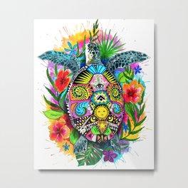 Turtle Hawaii Metal Print
