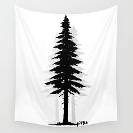 Pacific North West Tree Wall Tapestry