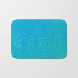 metal wire green blue Bath Mat