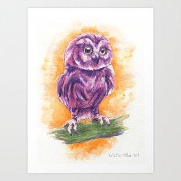 Cute Lil' Ol' Owl Art Print