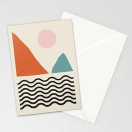 Fine Art Prints - Modern Abstract Wall Art Print, Mid Century Prints - Abstract Print, Modern Retro Stationery Cards