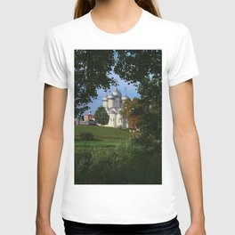Landscape with Saint Sophia Cathedral in Vologda T-shirt