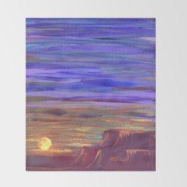 Magical Southwest Night Sky Throw Blanket