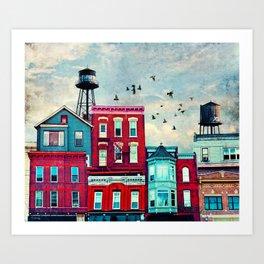 A North Avenue Art Print